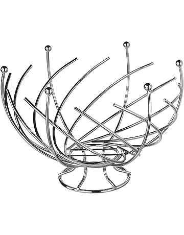 JJA 744801 cesto de Fruit Espiral Metal