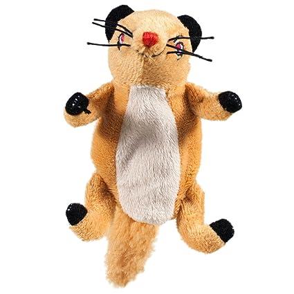 rudyard kiplings rikki tikki tavi mongoose finger puppet and refrigerator magnet