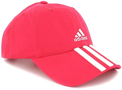 629e52b2583 New Womens Ladies Girls Adidas Pink Baseball Cap With Bright Pink Logo -  Fresh