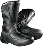 Probiker Unisex Black Speed Motorcycle Sports Racing / Riding Boots Black (9)