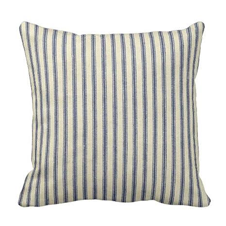 Amazon.com: UTF4C - Funda de almohada de lino y algodón ...