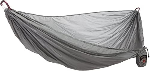 Grand Trunk Single Hammock Nano 7 Premium Ultra Light made with Ripstop Nylon for Camping and Travel includes Carabiners