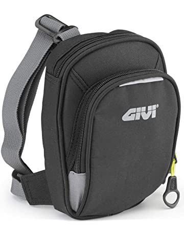 5bd5fc69f40 GIVI EA109B Easy Leg Bag with Two compartments Black Volume 1 Litre/max.  Additional