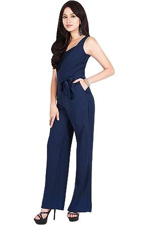 f2e2b883ce0 Viris Zamara Plus Size Womens Long Sleeveless V-Neck Slimming Pockets Tank  Top Belt Spring