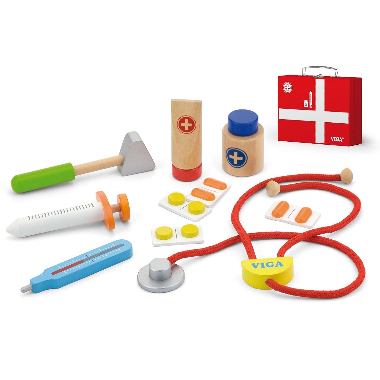 Viga Hölzernes medizinisches Kit 50530VG