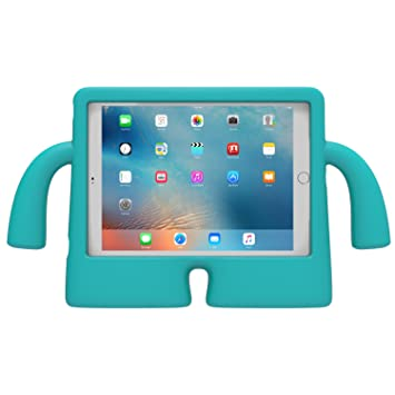 outlet store 12cd3 bd498 Speck iGuy Child's Free-Standing Protective Foam Case for 9.7 Inch iPad Pro  - Caribbean Blue,77641-2479