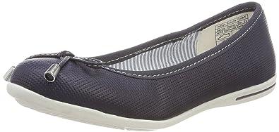 Indigo Schuhe Mädchen 422 302 Geschlossene Ballerinas, Blau (Navy), 36 EU