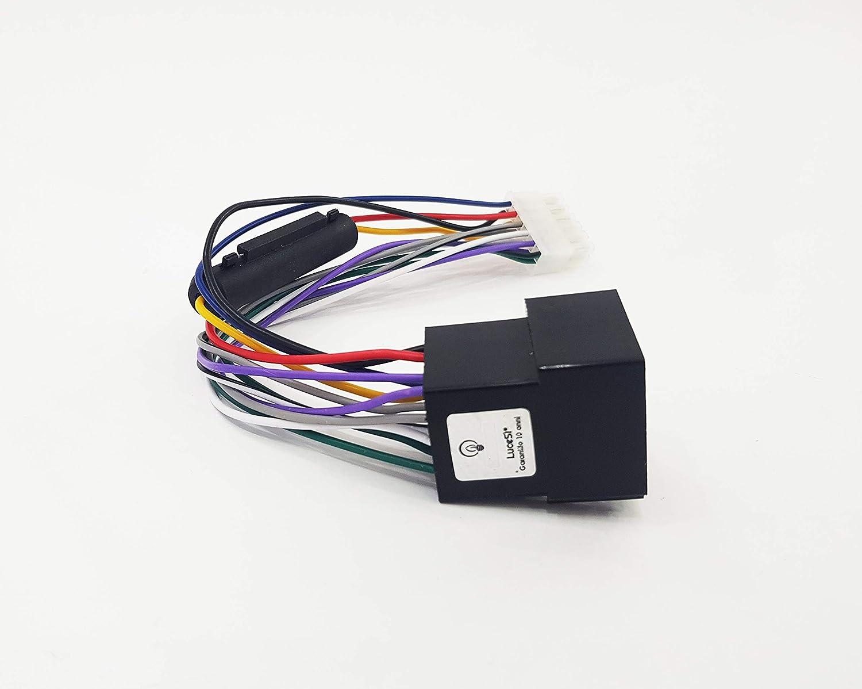 LuceSì - Cavo Adattatore Connettore ISO 12 PIN Cablaggio Per Autoradio Radio Stereo Takestop Srls