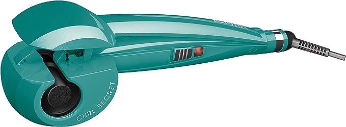 BaByliss Fashion Curl C905PE - Rizador para el pelo automático con recubrimiento de cerámica, 2 temperaturas, color verde: Amazon.es: Salud y cuidado personal