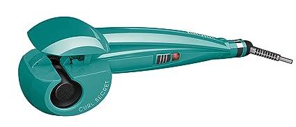 BaByliss Fashion Curl C905PE - Rizador para el pelo automático con recubrimiento de cerámica, 2 temperaturas, color verde