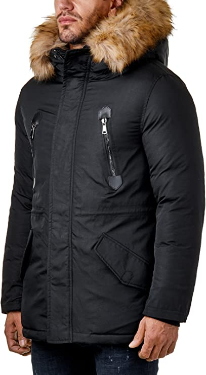 burocs-biker-parka-winter-jacke-gesteppt-schwarz