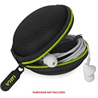 Gizga Essentials G11 Earphone Carrying Case for Earphones, Headset, Pen Drives, SD Cards (Green)(Carry case only)