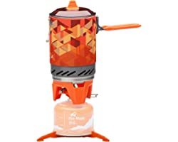"""Fire-Maple """"Fixed Star 2"""" Backpacking and Camping Stove System 