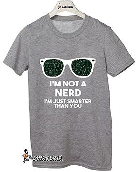 t-shirteria - Camiseta con frase graciosa sobre nerds, todas las tallas, para hombre y mujer gris Talla:Medium (5-6 años): Amazon.es: Deportes y aire libre