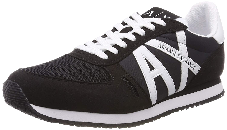 Acquista ARMANI EXCHANGE Sneaker Uomo MOD. XUX017XV028 NER/BIA miglior prezzo offerta