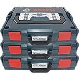3 Stück Bosch Maschinenkoffer L-Boxx Gr. 1 - Sortimo Gr. 102 - 2608438691 LBOX