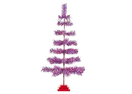 Patriotic Christmas Trees.Amazon Com 36 4th Of July Christmas Tree Classic Red