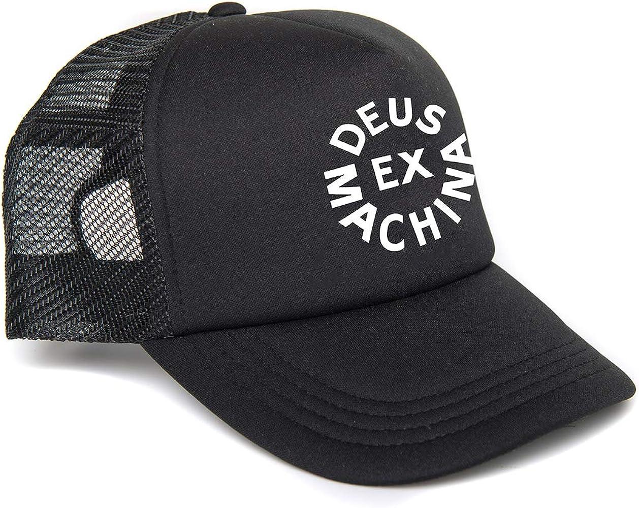 Deus Ex Machina - Circle Logo Trucker Classics - Gorra - Black ...