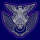 【航空自衛隊】JASDFロゴ ステッカー