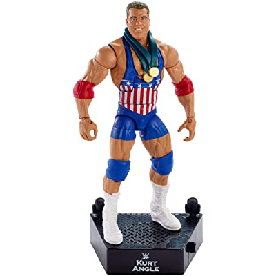 WWE Entrance Greats Kurt Angle Action Figure: Toys & Games
