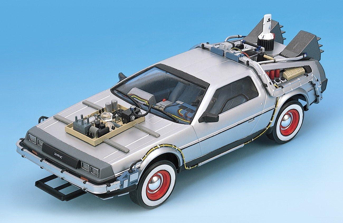 1//32 DeLorean Back to the ..Carrera Digital 132+Licht+Bremslicht+fertig umgebaut