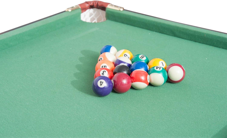 Nueva mtn-g 4,5 Juego de mesa de billar Mini portátil de mesa de billar juegos de mesa Juego w/bolas: Amazon.es: Deportes y aire libre