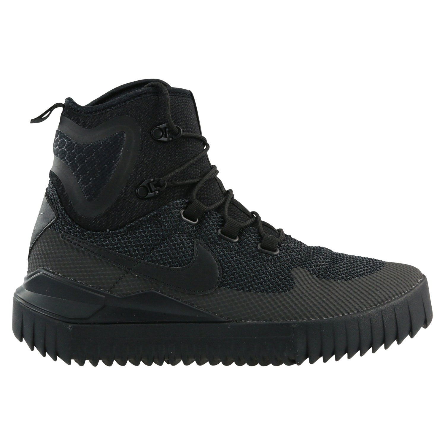 Nike Mens Air Wild Mid Boots Black/Black-Anthracite 916819-001 Size 12