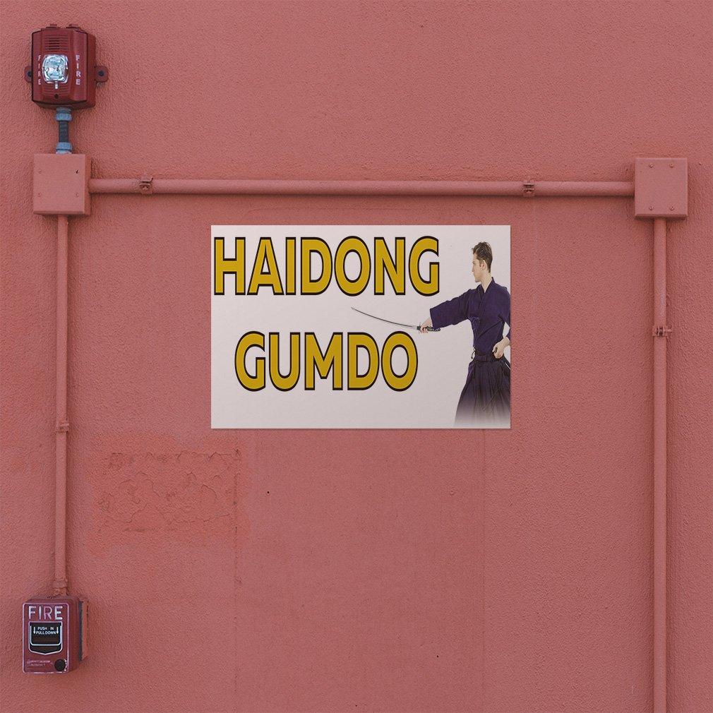 Set of 5 27inx18in Decal Sticker Multiple Sizes Haydon Gumbo Sports Haydon Gumbo Outdoor Store Sign White