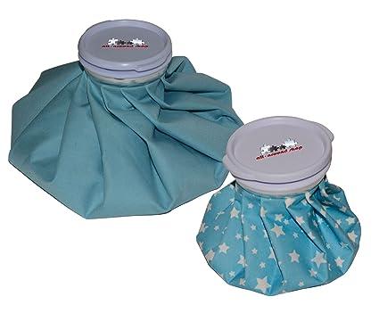 2 pieza Bolsa de hielo, bolsa refrigerante, compresa fría ...