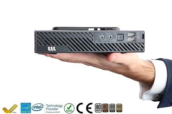 Mini PC TTL - Ordenador de sobremesa TeknoPack (Intel i3-7100, 4 ...