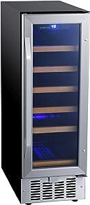 EdgeStar CWR182SZ 12 Inch Wide 18 Bottle Built-In Wine Cooler