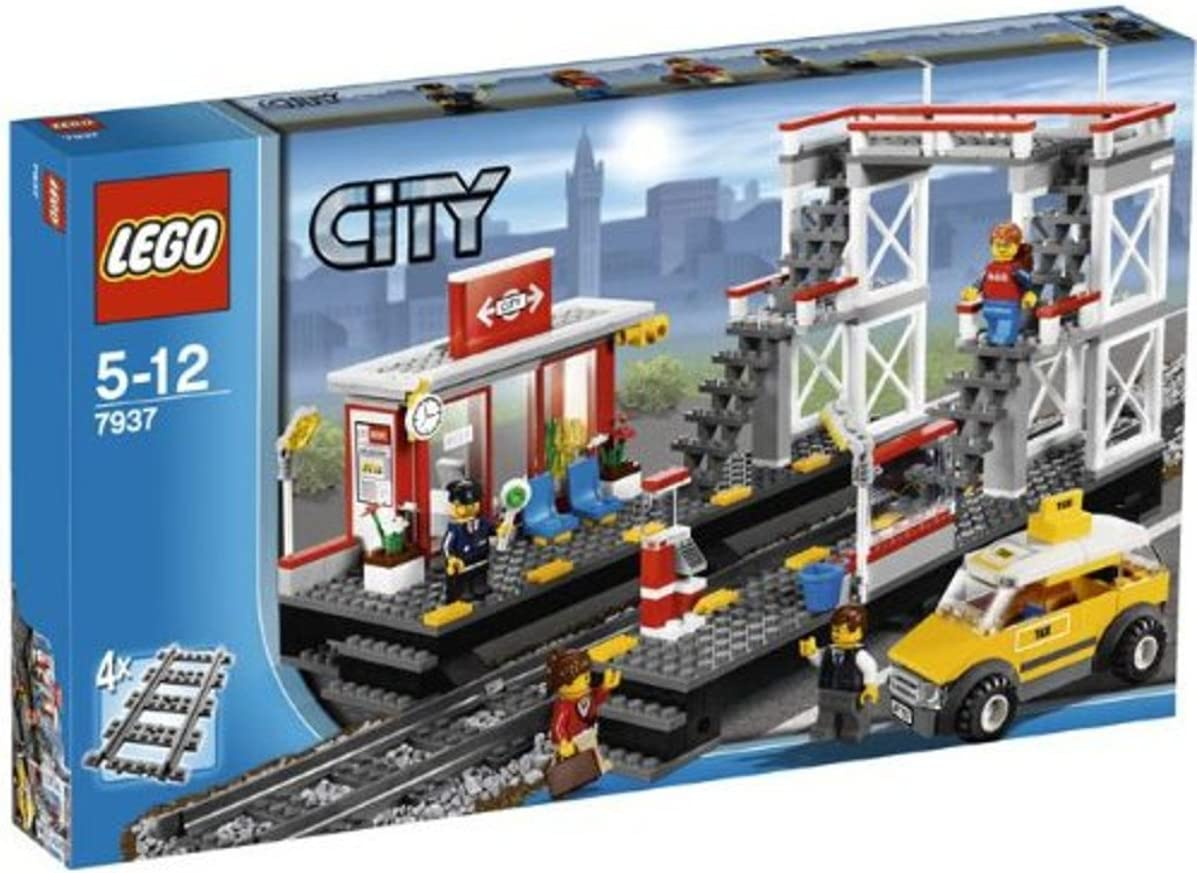 LEGO City Train Station 7937