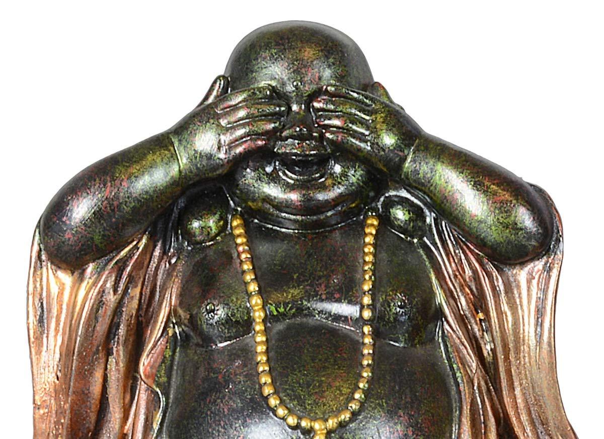 nichts sagen 19cm nichts hören Dekoration Buddha Set 3-teilig nichts sehen