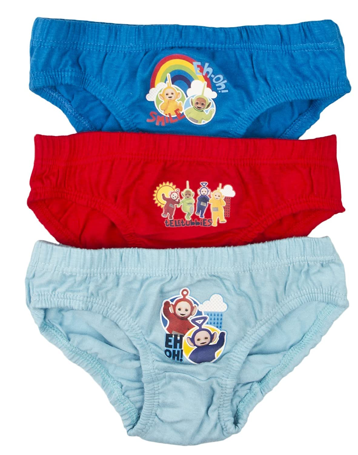 Teletubbies Boys Briefs (Pack of 3) RBMN-0935