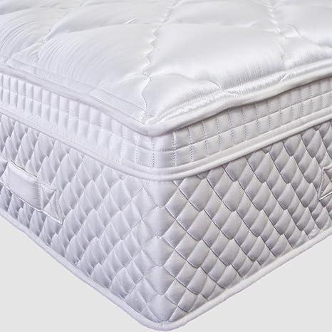NanniHome Spirit Premium Comodidad Luxus – Colchón, Hyper Soft, Multi Zona muelles ensacados,