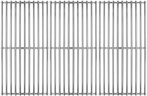 "Hongso 16 7/8"" Stainless Steel Cooking Grill Grates Replacement for Charbroil 463420509 463420508 463436214 463436215 463440109, g432-4300-01 Master Chef 85-3100-2 85-3101-0 Thermos 461442114 SCH763"