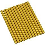 """GlueSticksDirect Gold Metallic Faux Wax Glue Stick mini X 4"""" 12 Sticks"""