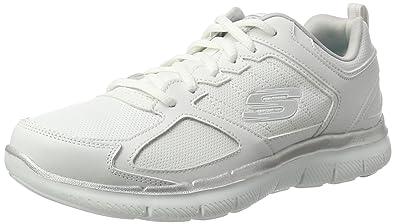 Skechers Flex Appeal 2.0-Good Time, Zapatillas de Deporte para Mujer: Amazon.es: Zapatos y complementos