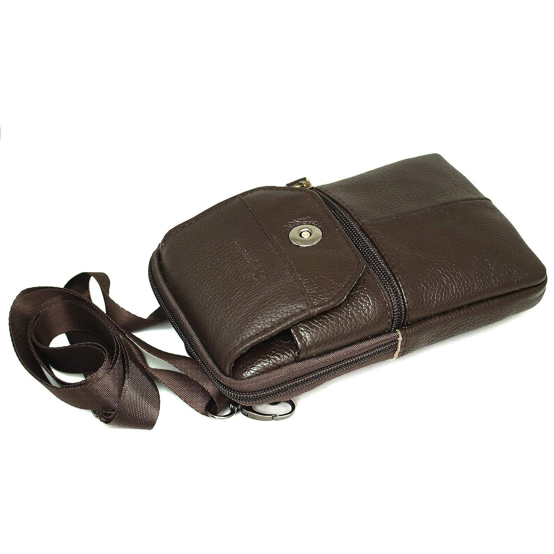 Amazon.com: Funda de piel para teléfono móvil, cinturón de ...