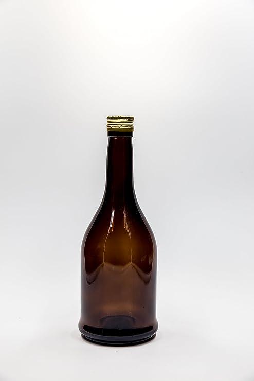 bellezza bambino famoso marchio di stilisti nr 1 pezzo art. Bottiglia Harry Brandy 750 ml vetro giallo ...