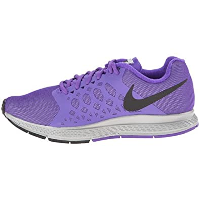 huge discount 43e53 2d83f Nike Zoom Pegasus 31 Flash Purple Silver Black UK 9  Amazon.co.uk  Shoes    Bags