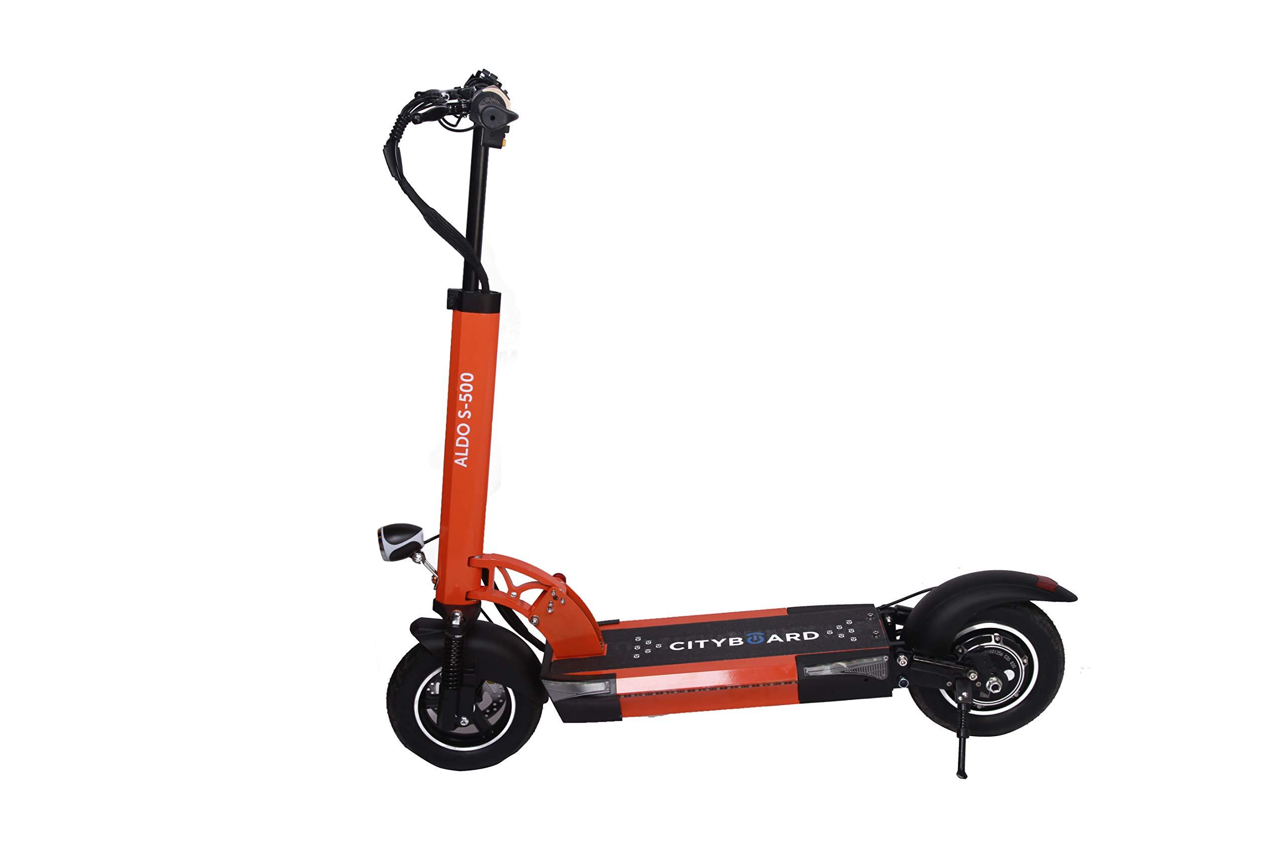 Comprar Cityboard Aldo S500 Patinete Electrico, Juventud Unisex, Orange Country, 105 x 52 x 100 cm