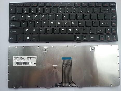 Lenovo 25201996 Teclado refacción para notebook - Componente para ordenador portátil (Teclado, Inglés del