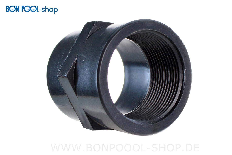 BON POOL Gewindemuffe 1½ IG PVC 50mm
