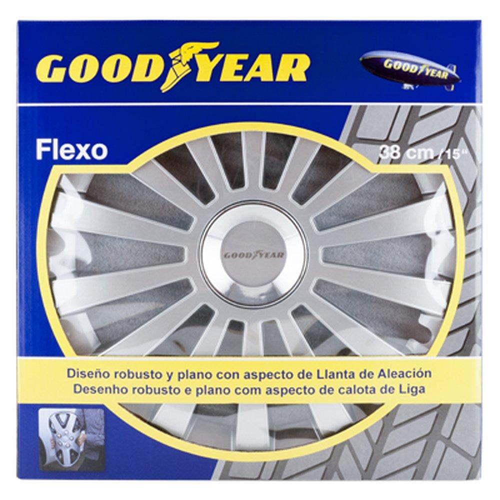Amazon.com: Good Year GOD9029 - Set of 4 Universal Hubcap-Car Wheel ...