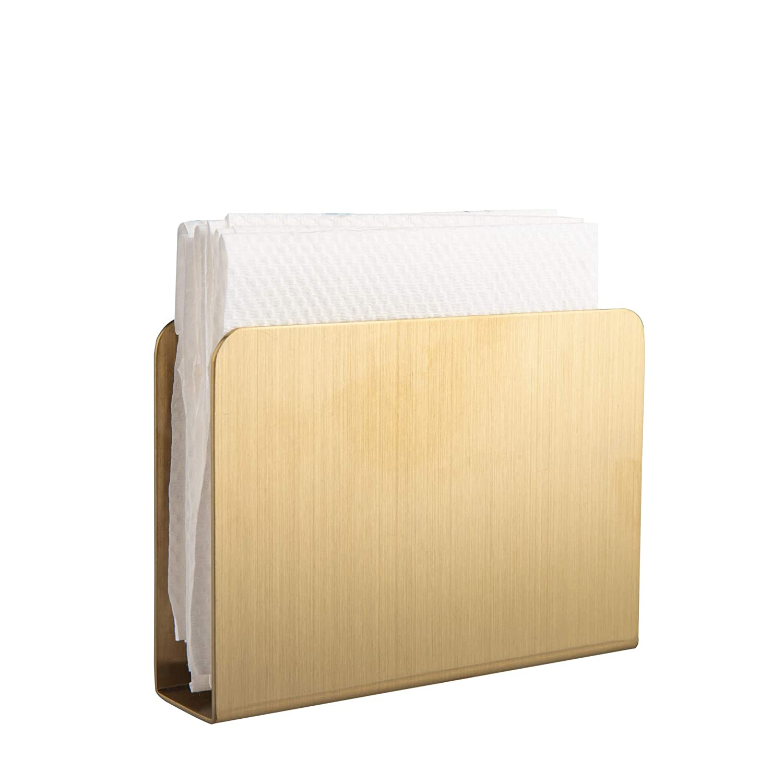 mesas de picnic Servilletero rectangular moderno de acero inoxidable para decoraci/ón de papel servilletas de c/óctel IMEEA organizador para encimeras de cocina mesas de cena