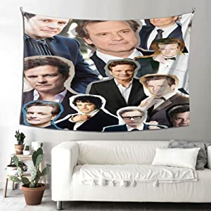 Colin Firth Tapestry Wall Hanging Tapestries beach tapestry for Living Room Bedroom Dorm Room Decor Blanket 90X60 inch