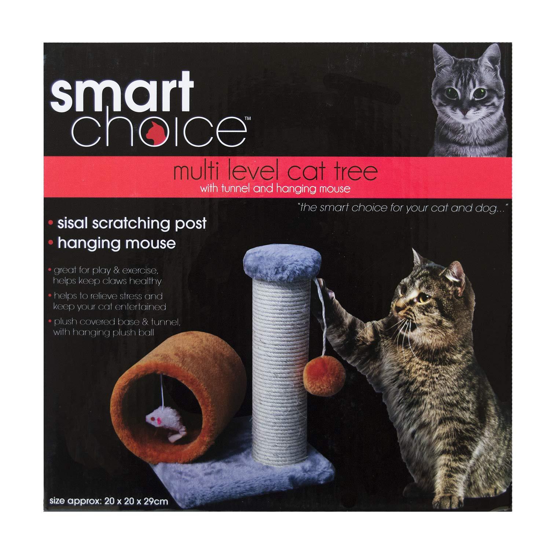 Rascador y túnel para gatitos, árbol rascador y cuerda de sisal ...
