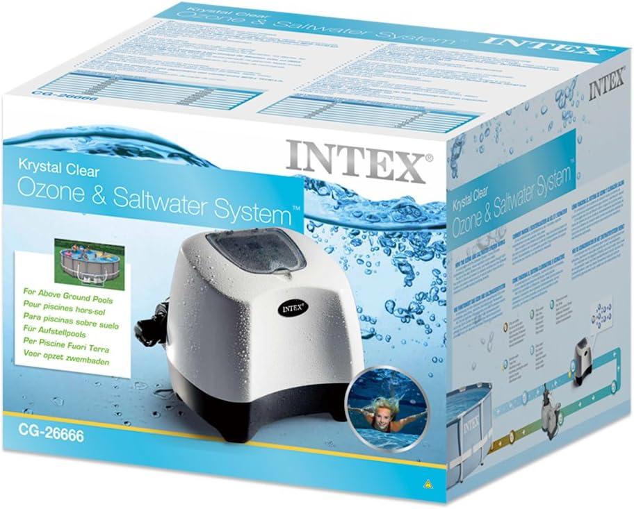 Intex 28670GS Krystal Clear Syst/ème Eco Eau Sal/ée 8220/G