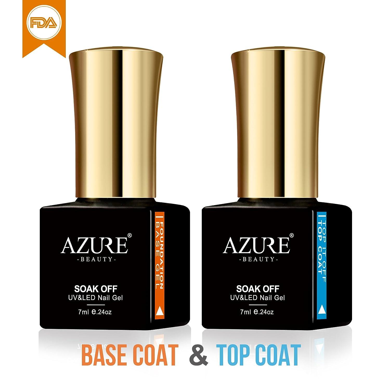 AZUREBEAUTY Gel Nail Polish Set Hot Sale Rainbow Colors UV LED Candy Macaroon Colors Gel Nail Polish Set 6 PCS 0.24 OZ